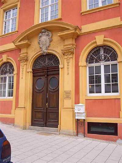 Eingangsportal Palais Grävenitz